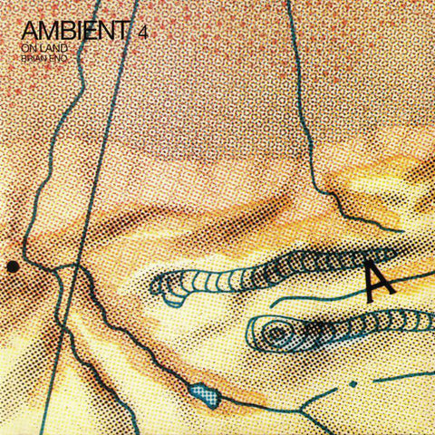 Brian Eno - Ambient 4 (On Land) - LP - Virgin - ENOLP8