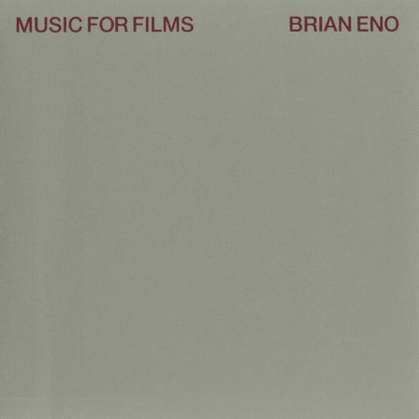 Brian Eno - Music For Films - LP - Virgin - ENOLP9