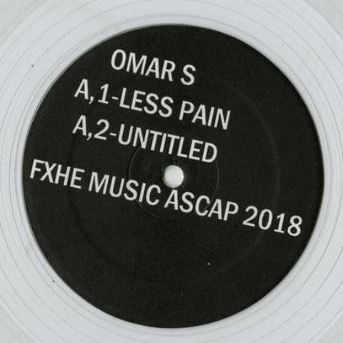 "Omar S - One Of A Kind - 12"" - FXHE Records - AOS7418"