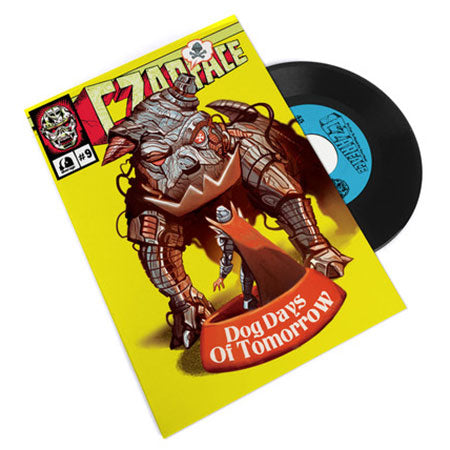 "Czarface - Dog Days of Tomorrow - 7"" + comic - Silver Age - SIL009-7"