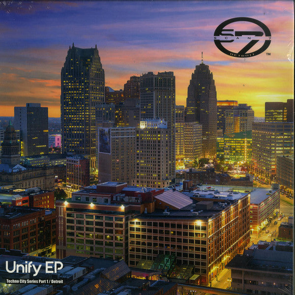 "Scan 7 - Unify EP - 12"" - Solar One Music - SOM047"