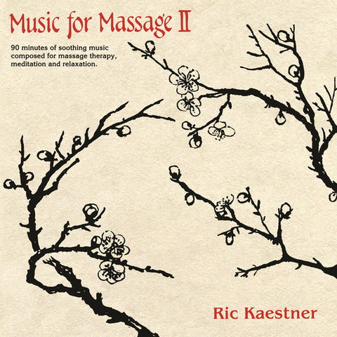 Ric Kaestner - Music For Massage II - 2xLP - Sifted Sand Records - SSR0001LP