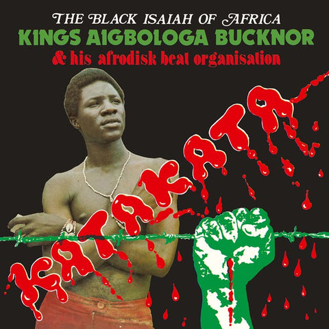 Kings Aigbologa Bucknor & Afrodisk Beat Organisation - Vol. I - Katakata - LP - Hot Casa Records - HC 62