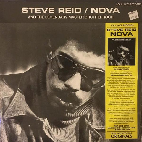 Steve Reid - Nova - LP - Soul Jazz Records - SJR LP442