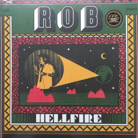 Rob - Hell Fire - LP - Tambourine Party - TP002