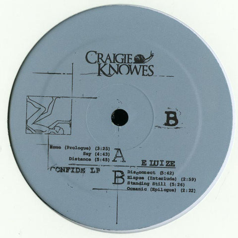 Eluize - Confide - LP - Craigie Knowes - CKNOWLP1