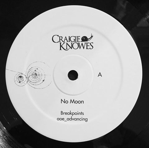 "No Moon - Where Do We Go From Here? - 12"" - Craigie Knowes - CKNOWEP15"