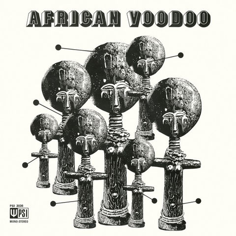 Manu Dibango - African Voodoo - LP - Hot Casa Records - HC63