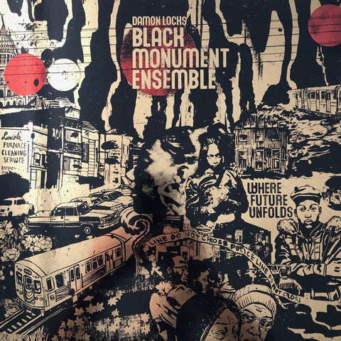 Damon Locks Black Monument Ensemble - Where Future Unfolds - LP - International Anthem - IARC0025