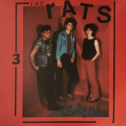 The Rats - In A Desperate Red - LP - Mississippi Records - MOR-01