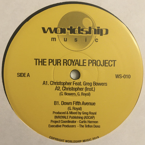 "The Pur Royale Project - 12"" - Worldship - WS-010"