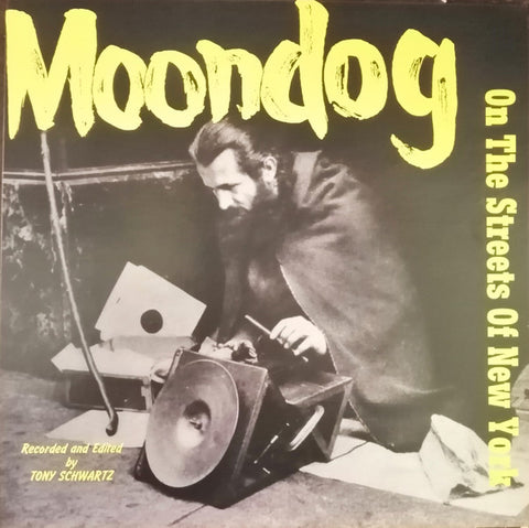 Moondog - On the Streets of New York - LP - Lucia Records - LR-001