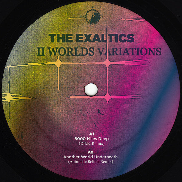 "The Exaltics - II Worlds Variations - 12"" - Clone West Coast Series - CWCS014.1"