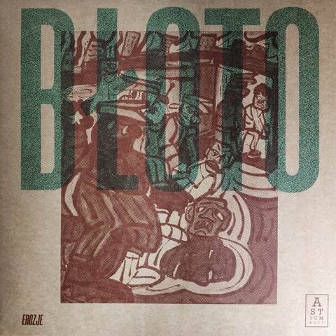 Błoto - Erozje - LP - Astigmatic Records - AR013LP