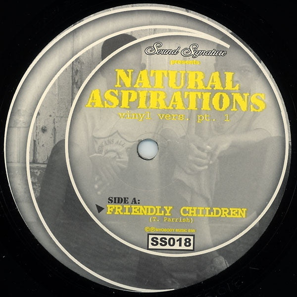 "Theo Parrish - Natural Aspirations (Vinyl Vers. Pt. 1) - 12"" - Sound Signature - SS018"