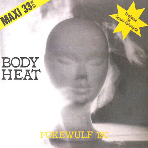 "Fokewulf 190 - Body Heat - 12"" - Dark Entries - DE-202"