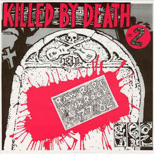 VA - Killed By Death #2 - LP - Redrum Records - YNF002