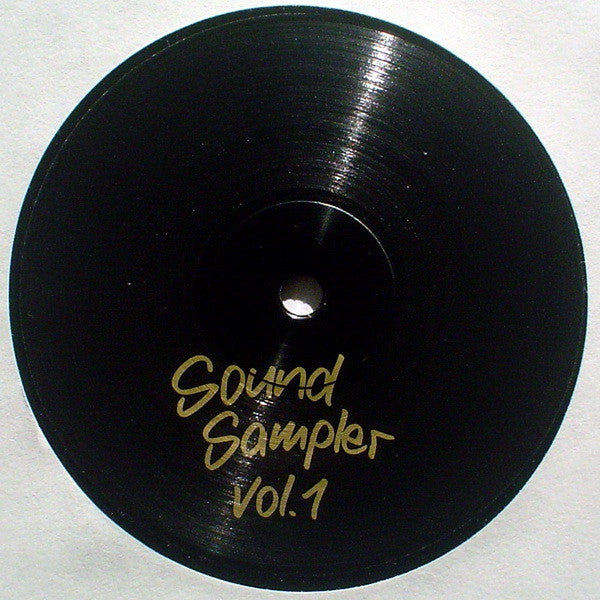 "VA - Sound Sampler Vol. 1 - 12"" - Soundsampler - SSMPLR 01"