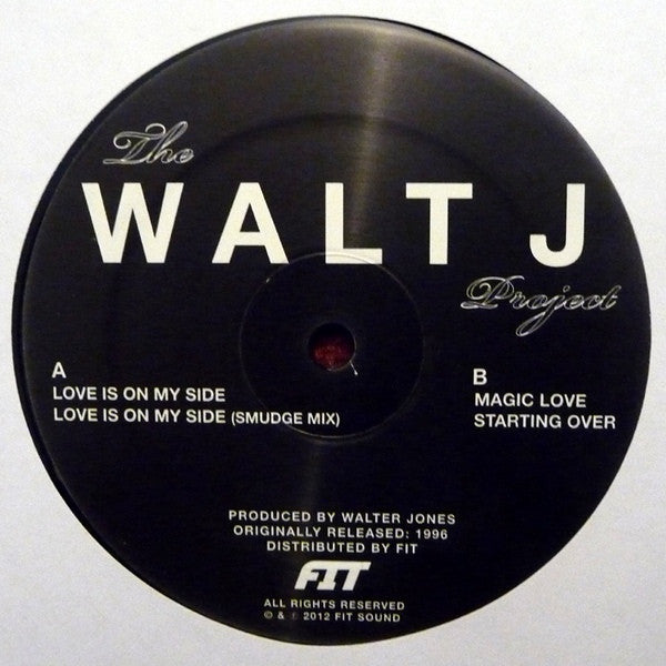 "Walt J - The Walt J Project - 12"" - Fit - FIT / WALT-J 03"