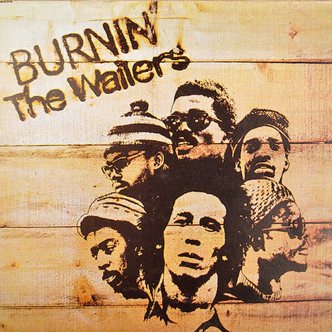 The Wailers - Burnin' - LP - Island Records - 600753600672