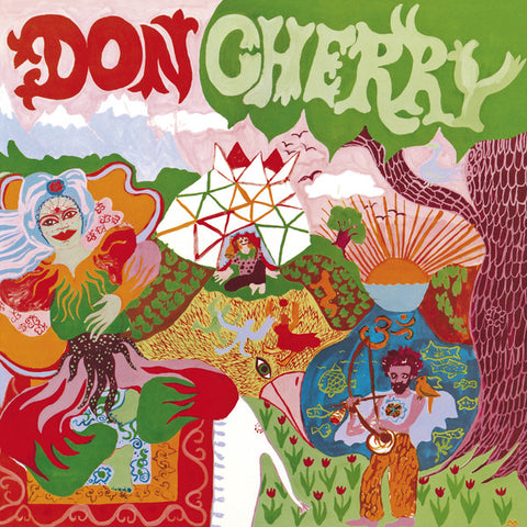 Don Cherry - Organic Music Society - 2xLP - Caprice Records - CAP 21828