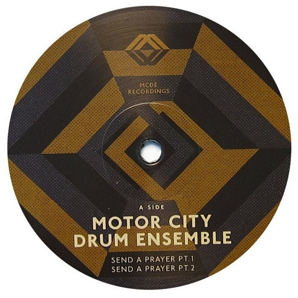 "Motor City Drum Ensemble - Send A Prayer - 12"" - MCDE 1210"