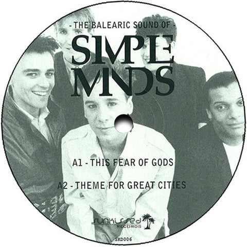 "Simple Minds - The Balearic Sounds of - 12"" - Sunkissed Records - SKD006"