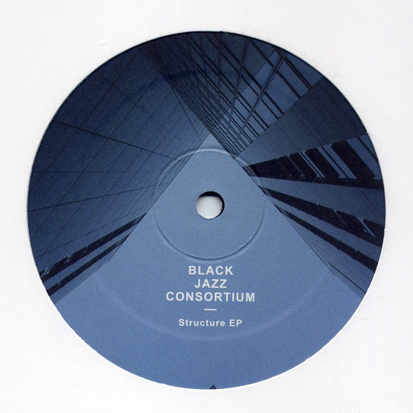 "Black Jazz Consortium - Structure EP - 12"" - Soul People Music - SPM018"