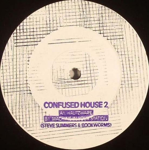 "Steve Summers & Bookworms - Halfzware - 12"" - Confused House - CH-002"