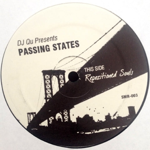 "DJ Qu - Passing States - 12"" - Strength Music Recordings - SMR-003"