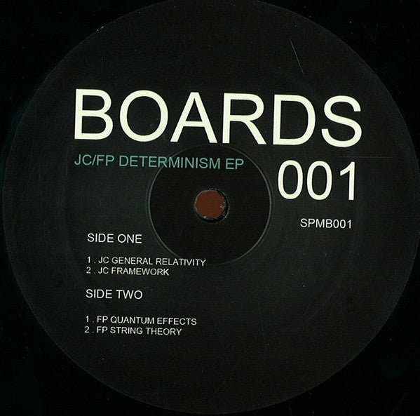 "JC / FP - Determinism EP - 12"" - Soul People Music - SPMB001"