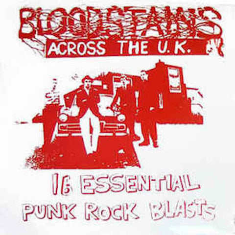 VA - Bloodstains Across the U.K. 2 - LP - Bloodstains - BLOODSTAINS09