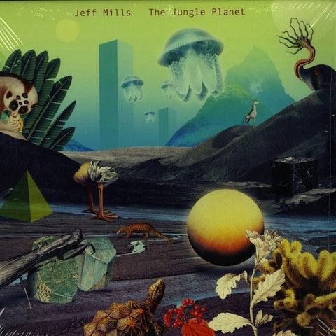 "Jeff Mills - The Jungle Planet - 2x12"" - Axis - AX-062"