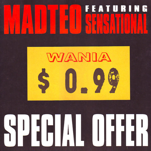 Madteo feat. Sensational - Special Offer - LP - Wania - WANIA $ 0.99