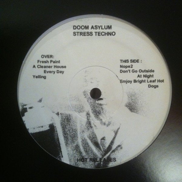 Doom Asylum - Stress Techno - LP - Hot Releases - HOT-38