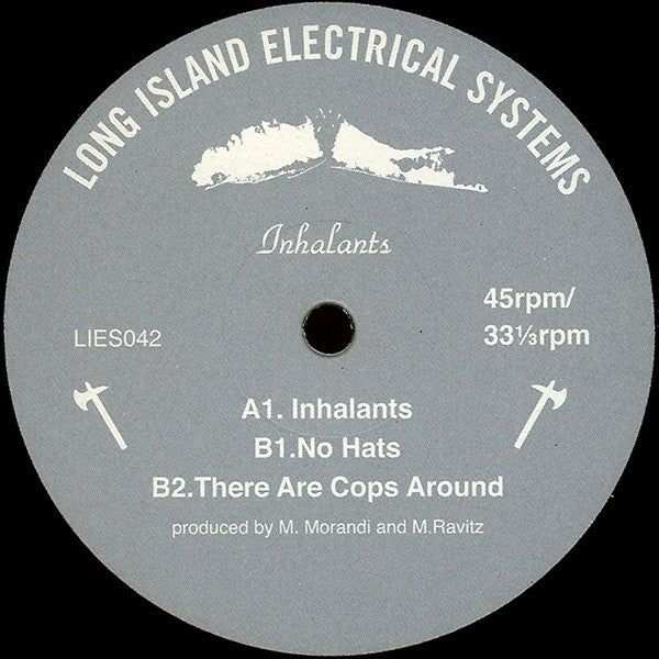 "Inhalants - 12"" - LIES 042"