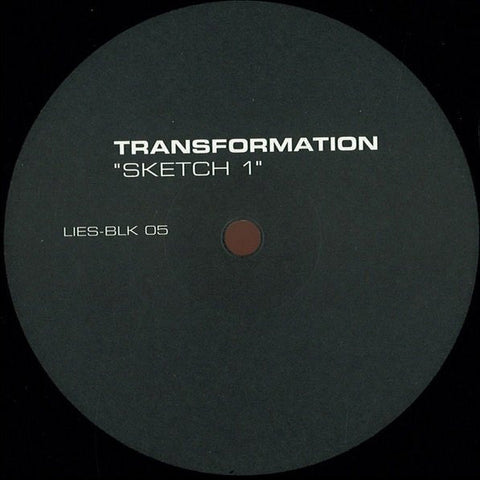 "Transformation - Sketch 1 - 12"" - LIES BLK-05"