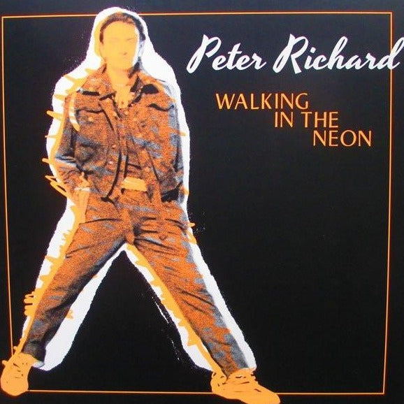 "Peter Richard - Walking in the Neon - 12"" - Dark Entries - DE-064"