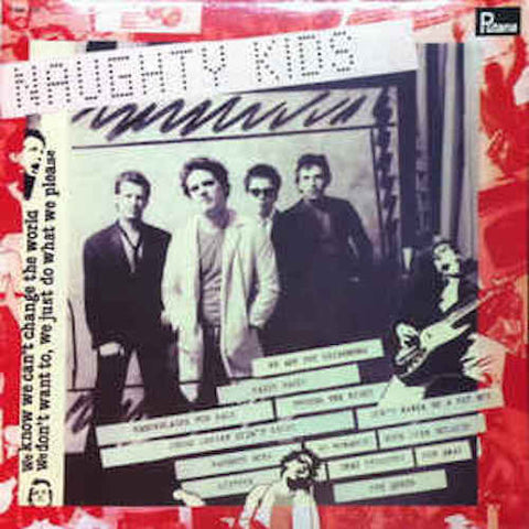 The Kids - Naughty Kids - LP - Putana - 9199915