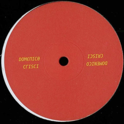 "Domenico Crisci - 12"" - Russian Torrent Versions - CCCP 09"