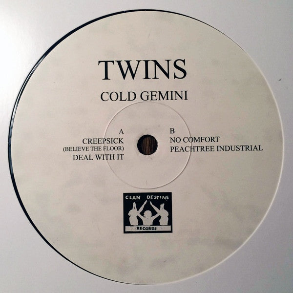 "Twins - Cold Gemini - 12"" - Clan Destine Traxx - CDR-12-009, Clan Destine Records - CDR-12-009"
