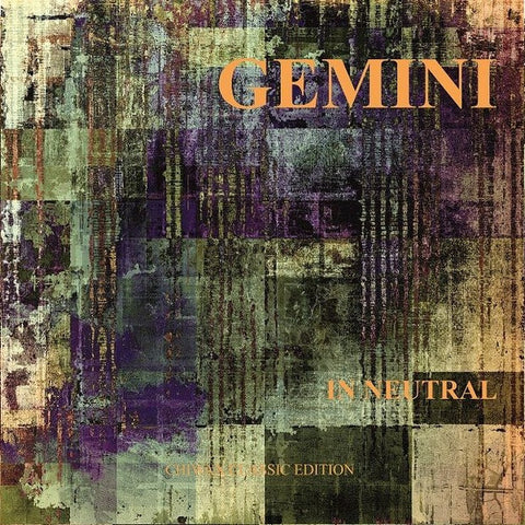 "Gemini - In Neutral - 2x12"" - Chiwax - CGTX004"