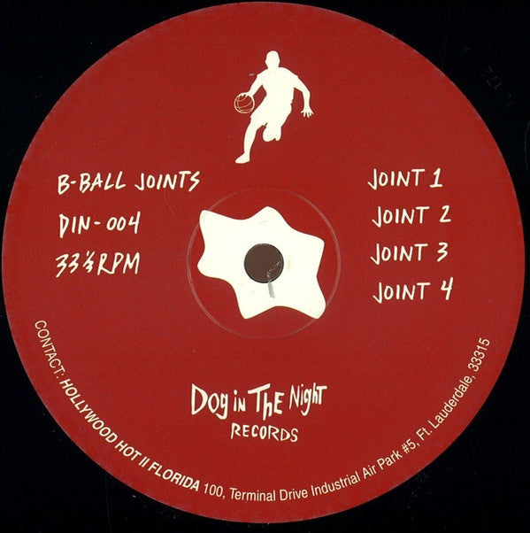 "B-Ball Joints - B-Ball Joints - 12"" - Dog in the Night - DIN-04"