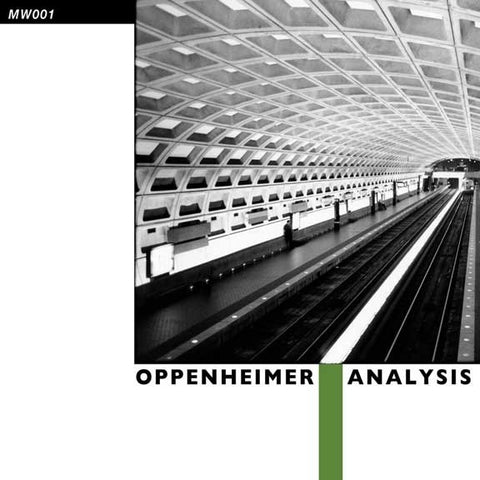 "Oppenheimer Analysis - Oppenheimer Analysis - 12"" - Minimal Wave - MW001"