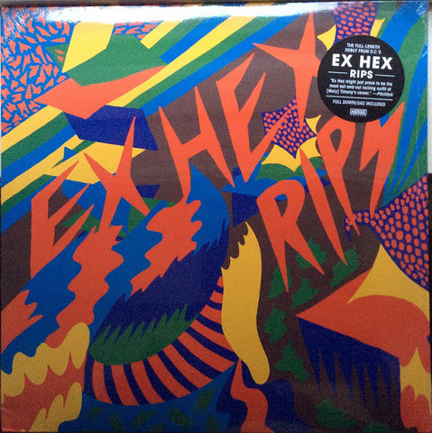 Ex Hex - Rips - LP - Merge Records - MRG525