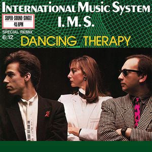 "IMS - Dancing Therapy - 12"" - Dark Entries - DE-078"