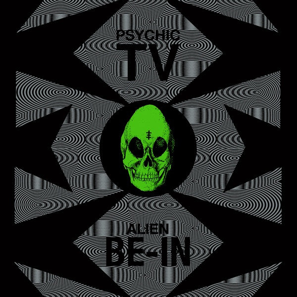 "Psychic TV - Alien Be-in Remix - 12"" - Dark Entries - DE-079"
