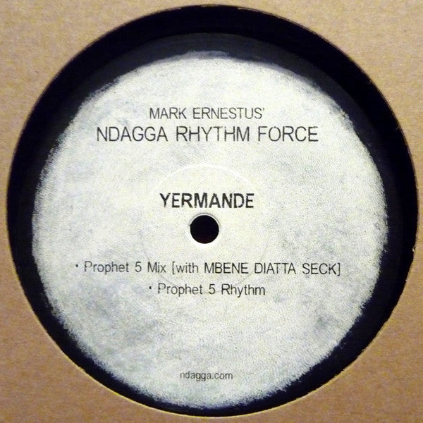 "Mark Ernestus' Ndagga Rhythm Force - Yermande - 12"" - Ndagga - ND-21"