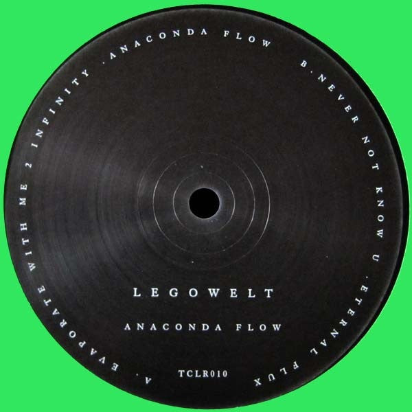 "Legowelt - Anaconda Flow - 12"" - Technicolour - TCLR010"