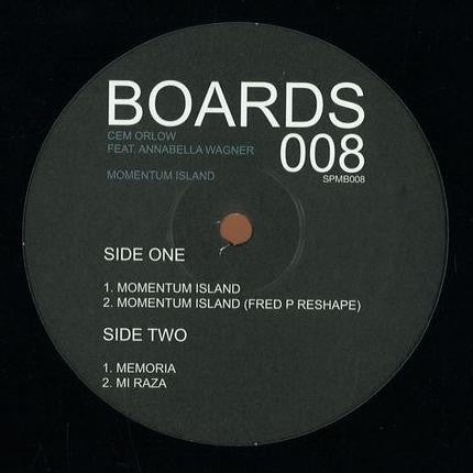 "Cem Orlow Feat. Annabella Wagner - Momentum Island - 12"" - Soul People Music - SPMB008"